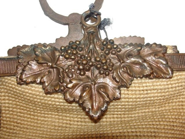 17: Two Long Needlepoint Bell Pulls Ca. 1920's - 3
