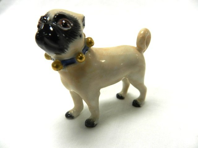 Meissen Miniature Porcelian Pug