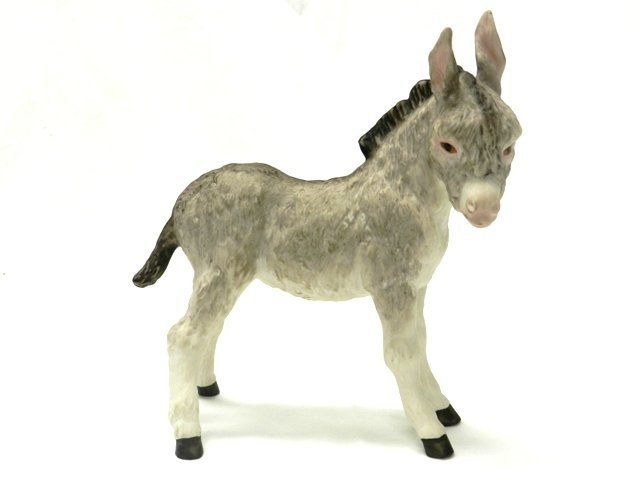 Cybis Donkey Figurine