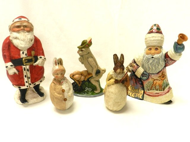 Debbee Thibault Collection -Santa & Rabbits