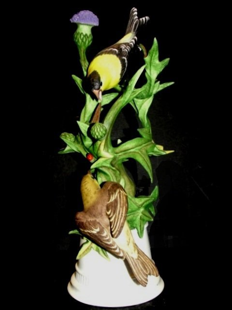 Boehm Porcelain Goldfinches Limited Edition