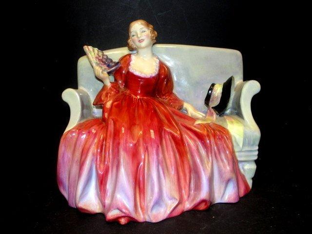 "Royal Doulton Figurine ""Sweet and Twenty''"