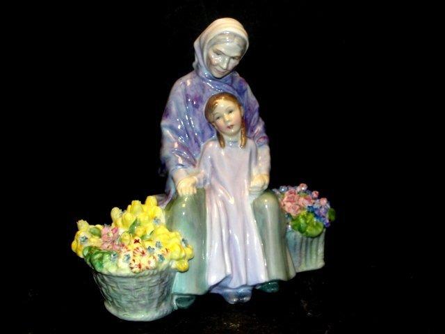 "Royal Doulton Figurine ""Granny's Heritage"""