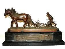 Austrian Bronze Figure Attributed To Carl Kaubu