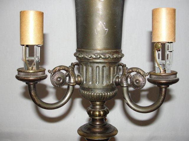 Bronze Brass Deco Touchier Lamp Mslc 2772 Lot 423