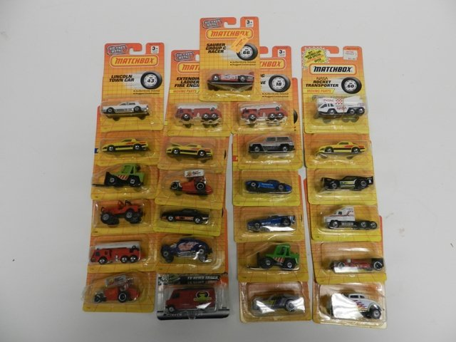 25 Matchbox Number Cars