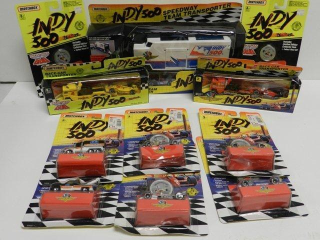 11 Matchbox Indy 500 Items