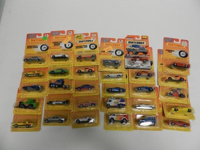 30 Matchbox Number Series Cars