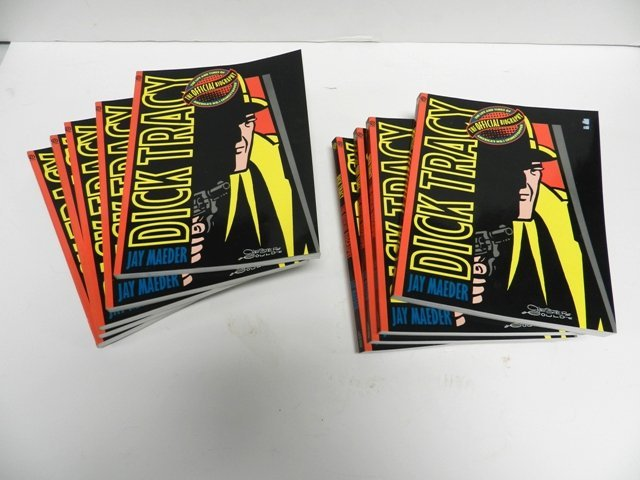 9 Official Biography of Dick Tracy Books
