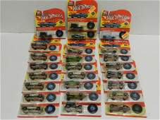 25 Hot wheels Commemorative Red Lines
