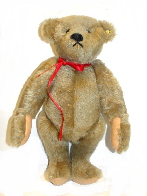 Stieff Teddy Bear With Ear Button