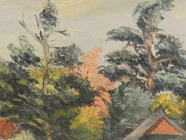 Harry Mintz Oil on Canvas Landscape Paintings - 3