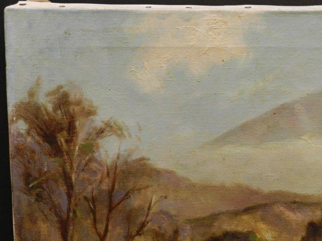 Harry Mintz Oil on Canvas Landscape Paintings - 7