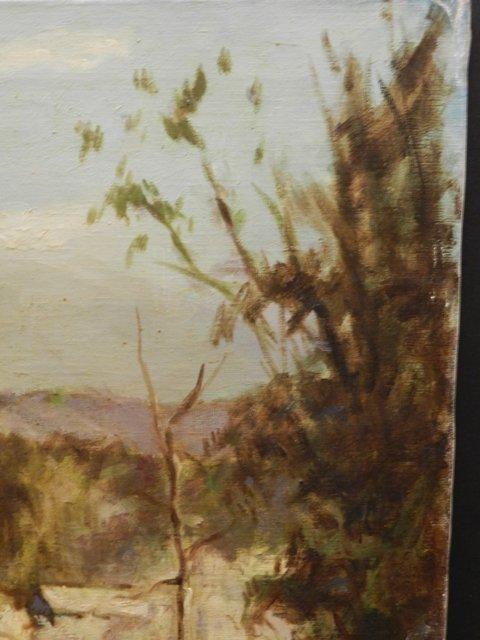 Harry Mintz Oil on Canvas Landscape Paintings - 9