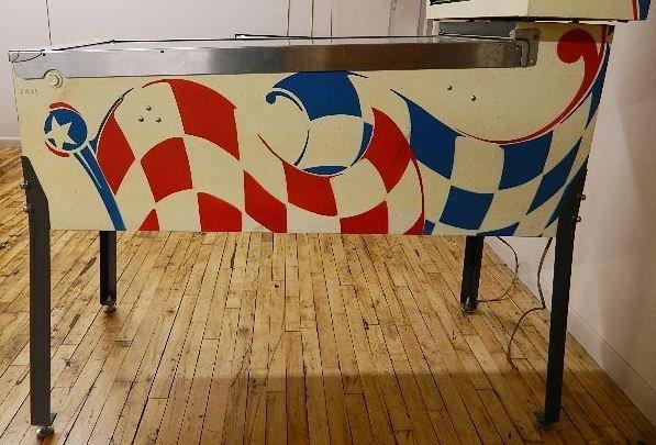 Bally Indy Car Twin Win Pinball Machine - 7