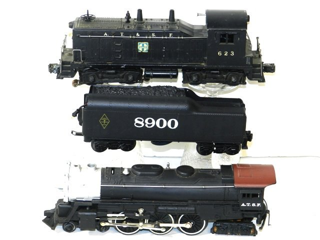 2- LIONEL TRAIN ENGINES