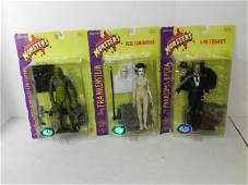 3- SIDESHOW TOYS UNIVERSAL MONSTERS