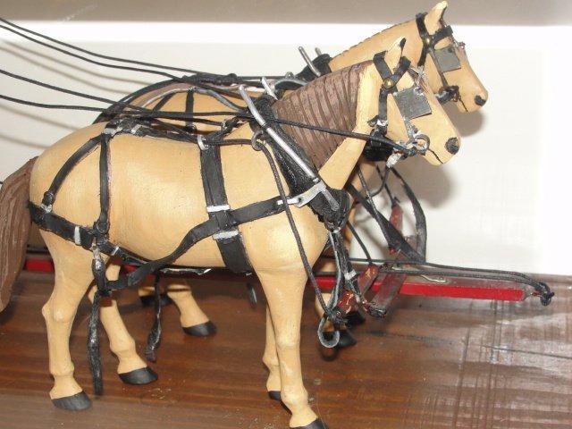 Wells Fargo Overland Stagecoach Model In Case - 4