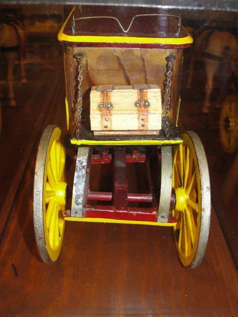 Wells Fargo Overland Stagecoach Model In Case - 7