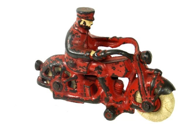 AC WILLIAMS CAST IRON MOTORCYCLE