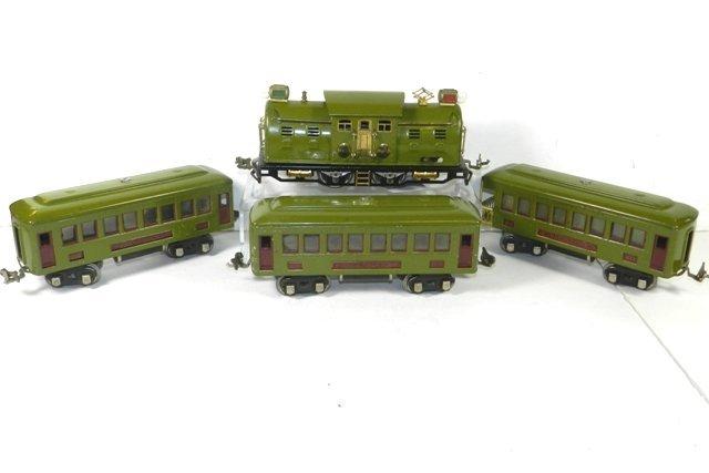 LIONEL NO. 254 PASSENGER TRAIN SET PRE-WAR
