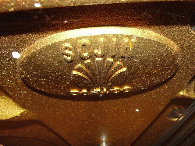 Sojin Daewoo Black Ebonized Piano With Stool - 3