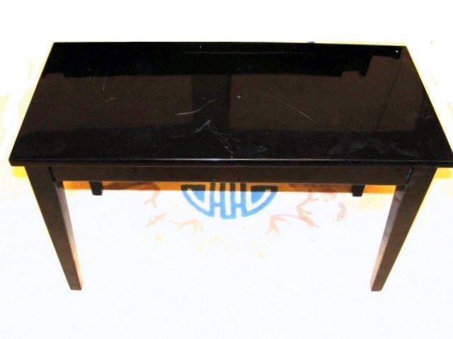 Sojin Daewoo Black Ebonized Piano With Stool - 7
