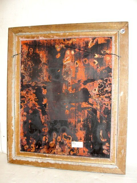 Mark Moses Painting Enamel On Copper - 5
