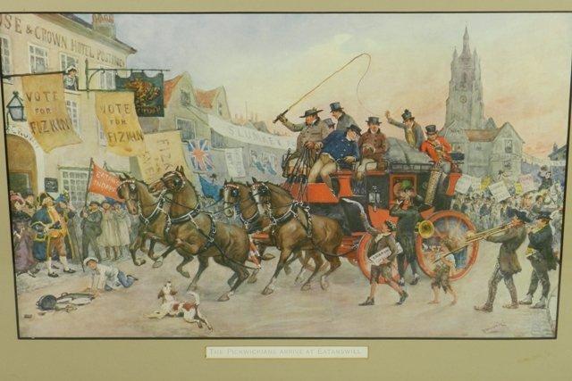 Albert Ludovici Charles Dickens Print - 2