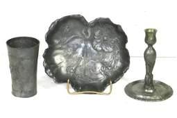 Three Piece Kayserzinn Collection Lot