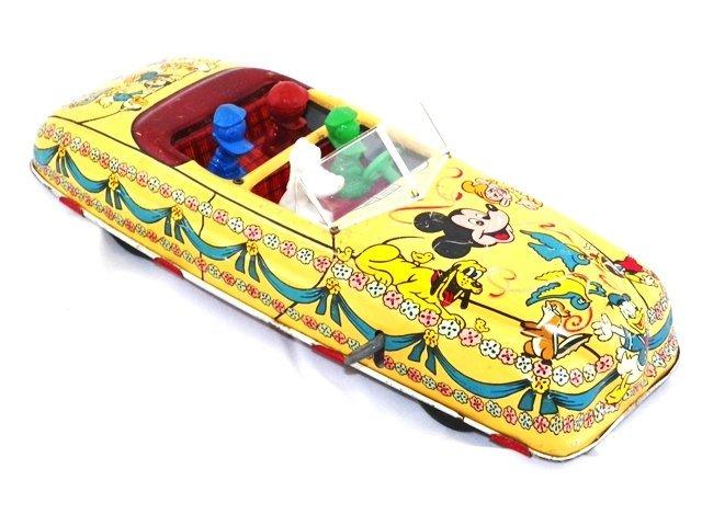 Marx Tin Windup Walt Disney Parade Car