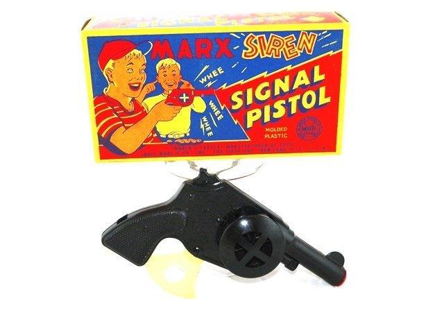 Marx Siren Signal Pistol w/Box