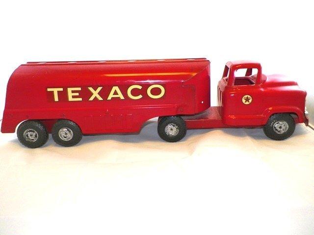Buddy L Pressed Steel TEXACO Tanker Truck