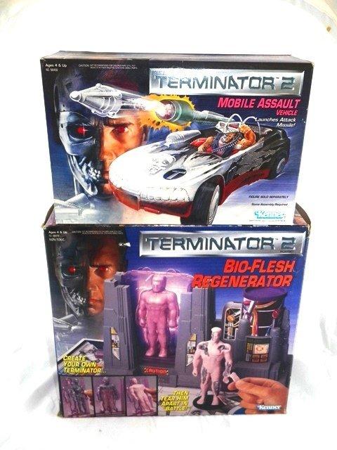 Kenner TERMINATOR 2 Assault Vehicle & Bio-Flesh Playset