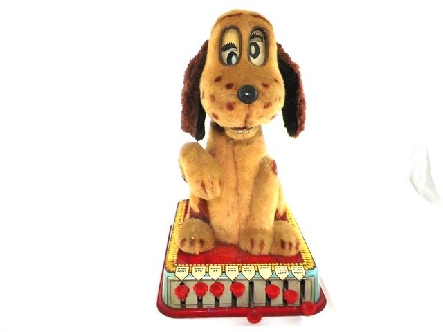 Marx battery operated BUTTONS The Puppy With A Brain