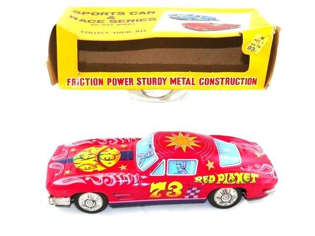 Japan Tin Friction 1960s CORVETTE w/Box