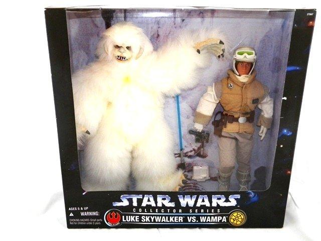 STAR WARS Collector Series Luke Skywalker vs Wampa MIB