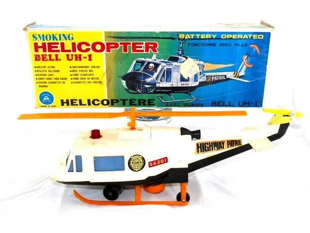 Alps Battery Op BELL UH-1 Helicopter w/ Box