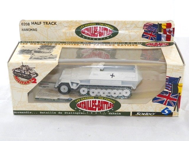 3- SOLIDO Diecast MILITARY VEHICLES MIBs - 2