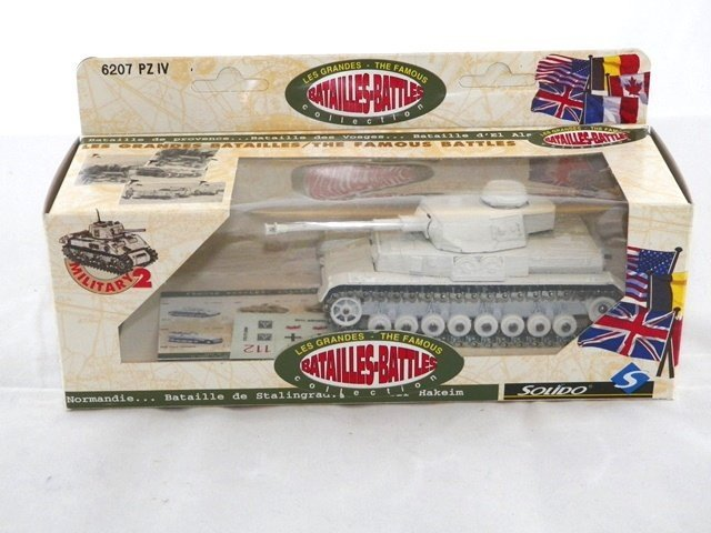 3- SOLIDO Diecast MILITARY VEHICLES MIBs - 3