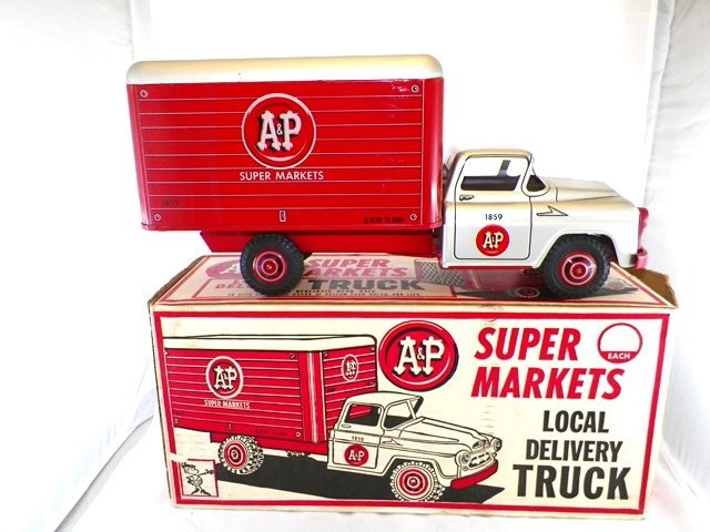 MARX Pressed Steel A&P SUPER MARKET TRUCK MIB