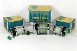 Collection of Penn Fishing Reels