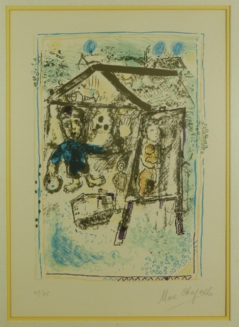 MARC CHAGALL LIMITED EDITION LITHO