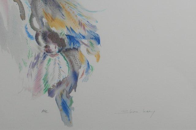 SHAN MERRY LITHOGRAPH ARTIST PROOF - 3