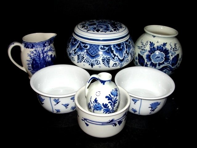 Collection Delft Holland And Blue & White China