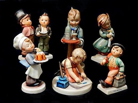 Collection Of Six Hummel Figurines