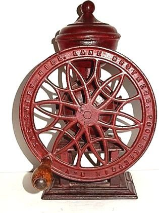The Swift Mill #12 Cast Iron Coffee Grinder