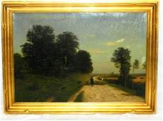 19th c. Oil on Canvas