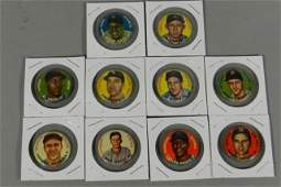 1956 Topps Player Pins - 10 w/Mays