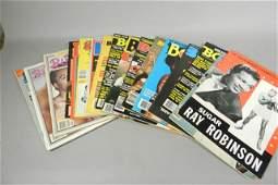 Boxing Magazines Ring ca 1980s Sugar Ray Robinson